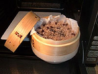 炊飯蒸籠(すいはんせいろ) 電子レンジでも蒸料理ができます