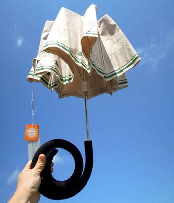 手ぶらんブレラは2つ折の傘