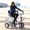 ランドウォーカー ニュークークル 抜群の安定性と小回り性能!みんなが安心して乗れるユニバーサル自転車