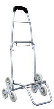 ニューバッグつき段差らくらくキャリー 3輪式回転車輪で階段も楽に登れるカートです。