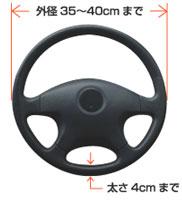 ワンタっちゃブル(C-WAN001) ワンタッチで車のハンドルがテーブルに早変わり